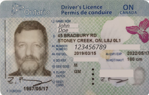 Smart Drivers License